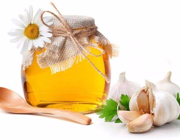 tỏi mật ong