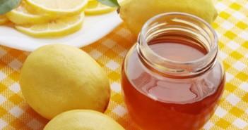 giảm cân bằng chanh và mật ong