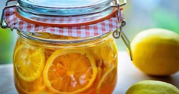 cách pha nước chanh mật ong