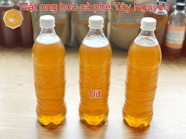 Chai mật ong hoa cà phê 1 lít