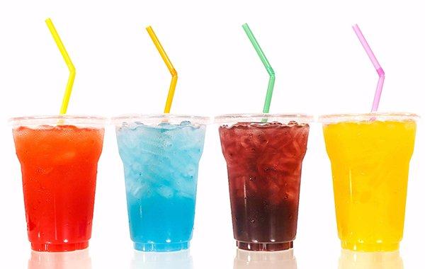 nước ngọt chứa rất nhiều đường