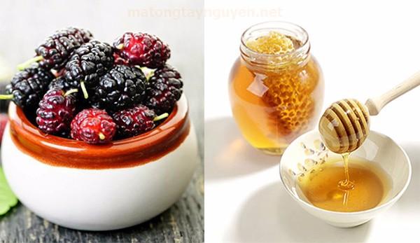 nguyên liệu làm siro dâu tằm ngâm mật ong
