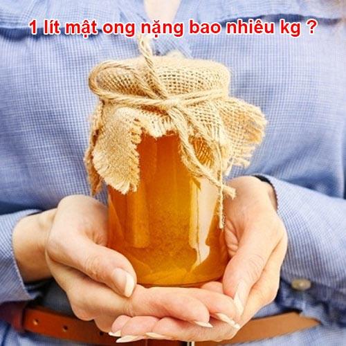 cân nặng của 1 lít mật ong