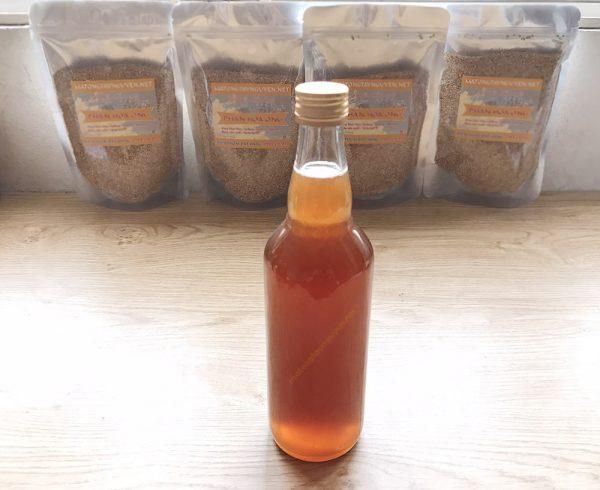 chai mật ong nguyên chất 500ml