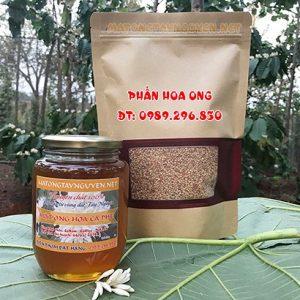 Combo sản phẩm mật ong và phấn hoa tây nguyên 02