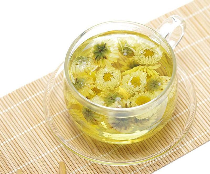 trà hoa cúc mật ong ngon